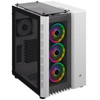 Gabinete Gamer Corsair Crystal Series 680X, RGB, Branco - CC-9011169-WW