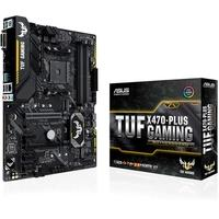 Placa-Mãe Asus TUF X470-Plus Gaming, AMD AM4, ATX, DDR4