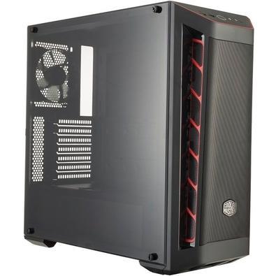 Gabinete Cooler Master MB511 Vermelho MCB-B511D-KANN-S00