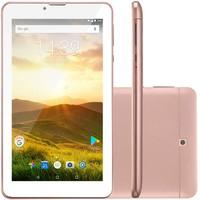 Tablet Multilaser M7 4G Plus, Dual Chip, Android Oreo 8.1, 7?, Golden Rose - NB286