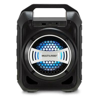 Caixa de Som Multilaser Bluetooth, LED, 30W - SP313