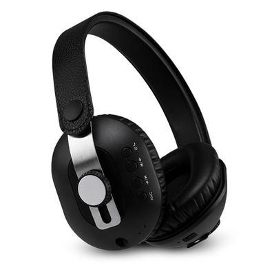 Headphone Pulse Anc Bluetooth, P2, Couro Preto - PH274