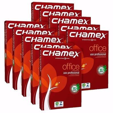 Papel Chamex A4 210x297mm, 10 Pacotes de 500 Folhas