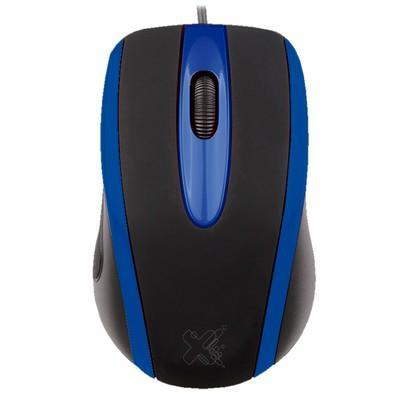 Mouse Maxprint Techzone, Azul - 6013911