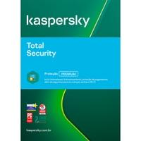 Kaspersky Antivírus Total Security 2020 Multidispositivos 1 PC - Digital para Download