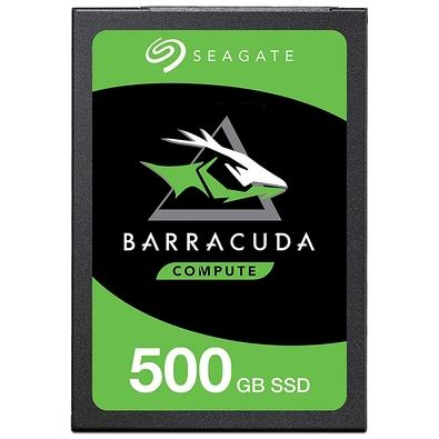 SSD Seagate Barracuda, 500GB, SATA, Leitura 560MB/s, Gravação 535MB/s - STGS500401