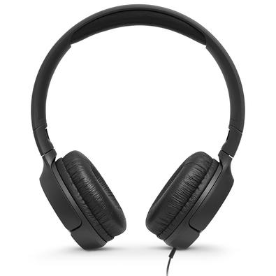Headphone JBL Tune, 3.5m, Preto - JBLT500BLK
