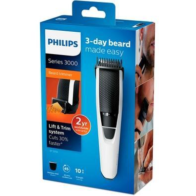 Aparador Philips Sem Fio, Preto e Branco, Bivolt - BT3206