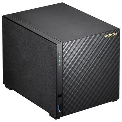 Storage Asustor NAS 2GB, HD 12TB, 4 Baias - AS3204T12000