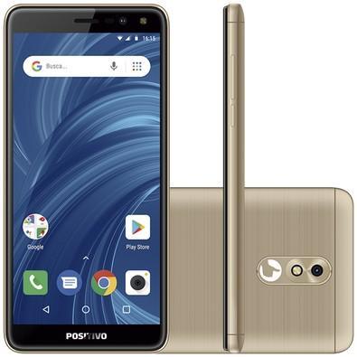 Smartphone Positivo Twist 2 Pro S532, 32GB, 8MP, Tela 5.7´, Dourado - 3900963