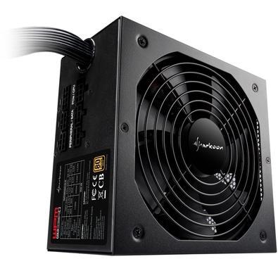 Fonte Sharkoon WPM Gold Zero, 650W, 80 Plus Gold, Semi-Modular