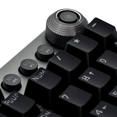 Teclado Mecânico Gamer Fortrek GPro K7 Plus, RGB, Switch KRGD Blue, ABNT2