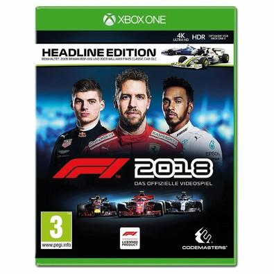 Game F1 2018 Xbox One