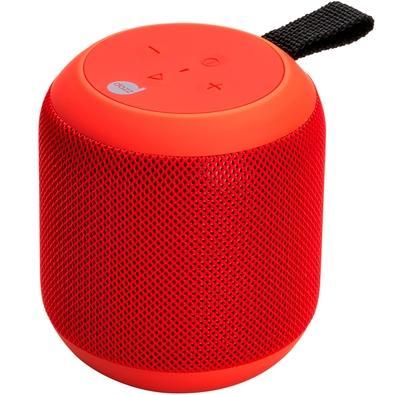 Caixa de Som Dazz Sounds 360, Bluetooth, 7W, À Prova D´Água, Vermelha - 6014481