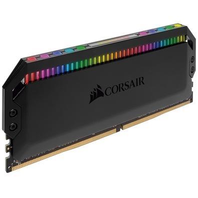 Memória Corsair Dominator RGB, 32GB (2x16GB), 3200Hz, DDR4, C16, Preto - CMT32GX4M2C3200C16