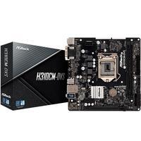 Placa-Mãe ASRock H310CM-DVS, Intel LGA 1151, mATX, DDR4 - 90-MXB8K0-A0UAYZ