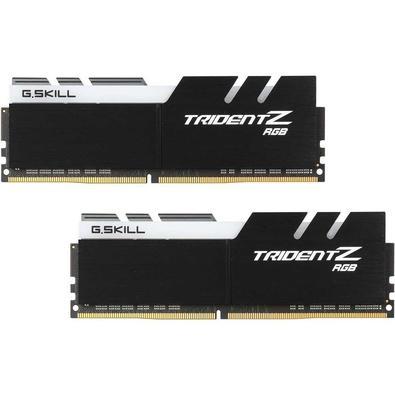 Memória G.Skill Trident Z RGB, 16GB (2x8GB), 3600Hz, DDR4, C19 - F4-3600C19D-16GTZRB