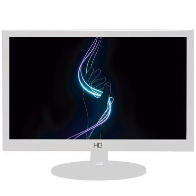 Monitor HQ LED 15.6´ Widescreen, HDMI/VGA, Branco - 15,6WHQ-LED