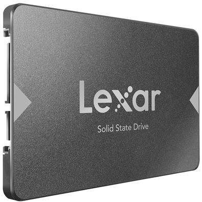 SSD Lexar NS100, 480GB, SATA, Leitura 550MB/s - LNS100-480RBNA