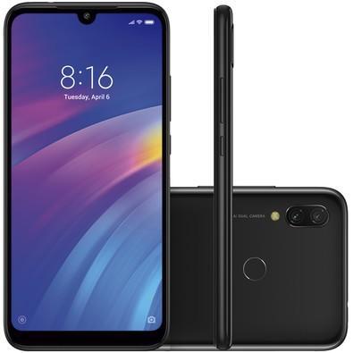 Smartphone Xiaomi Redmi 7, 64GB, 12MP, Tela 6.26´, Preto - CX269PRE