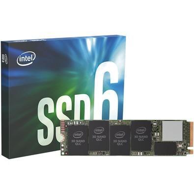 SSD Intel 660P Series, 512GB, M.2 NVMe, Leitura 1500MB/s, Gravação 1000MB/s - SSDPEKNW512G8X1
