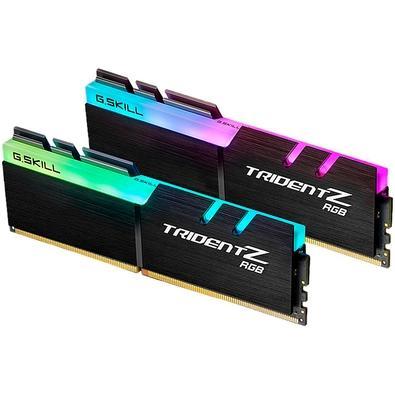 Memória G.Skill Trident Z RGB, 16GB (2x8GB), 3000Hz, DDR4, C16 - F4-3000C16D-16GTZR