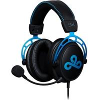 Headset Gamer HyperX Cloud Alpha Cloud9 Edition, Drivers 50mm, Preto e Azul - HX-HSCAC9-BL