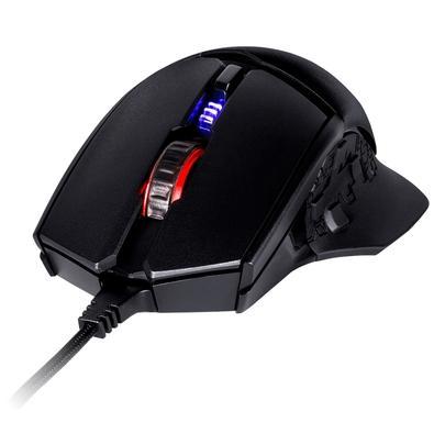 Mouse Gamer Cooler Master, 8 botões, 24000 DPI, Preto - MM-830-GKOF1