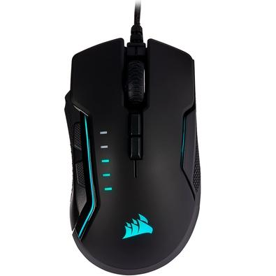 Mouse Gamer Corsair Glaive PRO, RGB, 7 Botões, 18000 DPI, Alumínio - CH-9302311-NA
