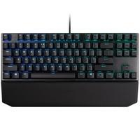 Teclado Mecânico Gamer Cooler Master MK730, RGB, Switch Cherry MX Red, US - MK730-GKCR1