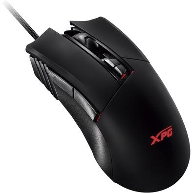Kit Gamer XPG Infarex - Mouse Gamer M10, RGB + Mousepad Gamer XPG R10, RGB, Rígido, Control, 350x250x3.6mm