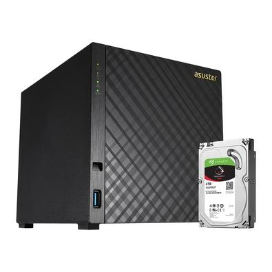 Storage Asustor NAS, 4TB, 4 Baias - AS3104T4000