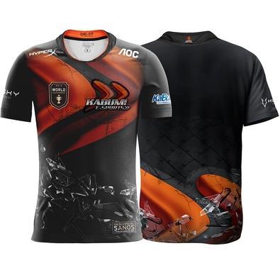 Camiseta Comemorativa KaBuM e-Sports 5 anos do Primeiro Título - Tamanho GG