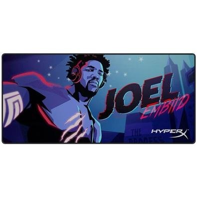 Mousepad Gamer HyperX Fury S We´re All Gamers Joel Embiid, Extra Grande (900x420mm) - HX-MPFS-XL-JEG