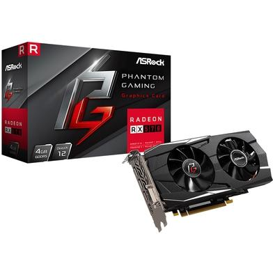 Placa de Video Asrock Phantom Gaming D Radeon RX570 4G, GDDR5