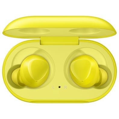 Fone de Ouvido Bluetooth Samsung Galaxy Buds, Recarregável, Amarelo -  SM-R170NZYAZTO