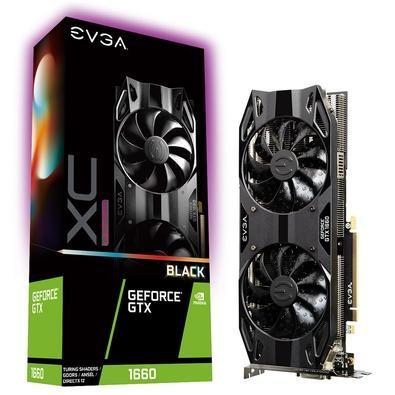 Placa de Video EVGA NVIDIA GeForce GTX 1660, 6GB, GDDR5 - 06G-P4-1165-KR