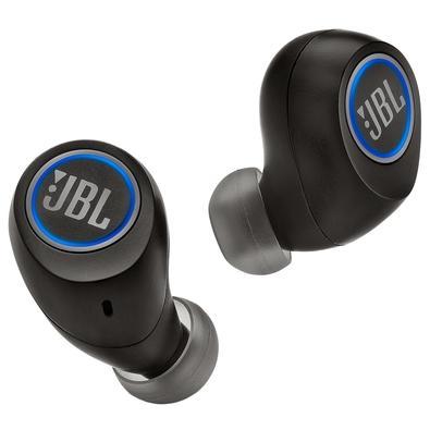 Fone de Ouvido Bluetooth Intra Auricular JBL Free, Recarregável, Preto - JBLFREEXBLKBT