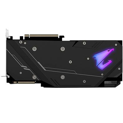Placa de Vídeo Gigabyte Aorus NVIDIA  GeForce RTX 2080 Super, 8GB, GDDR6 - GV-N208SAORUS-8GC