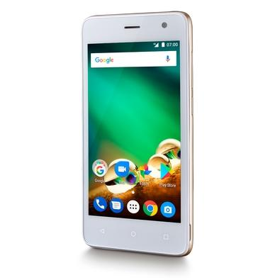 Smartphone Multilaser MS45, 8GB, 8MP, Tela 4.5´, Dourado - NB721