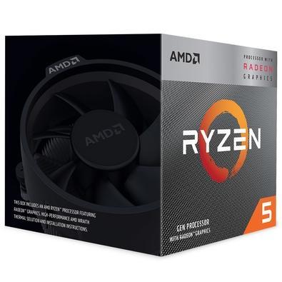 Placa-Mãe Asus Prime B450M Gaming/BR + Processador AMD Ryzen 5 3400G