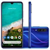 Smartphone Xiaomi Mi A3, 128GB, 48MP, Tela 6.088´, Azul + Capa - CX281AZU