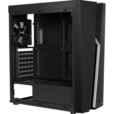 Gabinete Gamer Aerocool Bolt Mid Tower, RGB, com FAN, Lateral em Acrílico - 67990