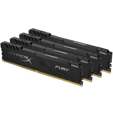 Memória HyperX Fury, 16GB (4x4GB), 3200MHz, DDR4, CL16, Preto - HX432C16FB3K4/16