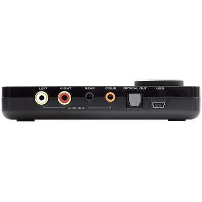 Placa de Som Creative Sound Blaster X-Fi, USB, 5.1 Canais  - 70SB109500008