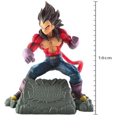 Action Figure Dragon Ball GT, Super Saiyan 4, Vegeta, Diorama - 39121