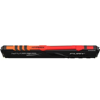 Memória HyperX Fury RGB, 16GB, 3466MHz, DDR4, CL16, Preto - HX434C16FB3A/16