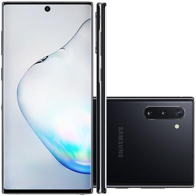 Smartphone Samsung Galaxy Note 10, 256GB, 16MP, Tela 6.3´, Preto + Caneta e Capa - SM-N970FZKJZTO