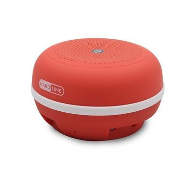 Caixa de Som Portátil Hardline B03, Bluetooth, 3W RMS, Vermelho - 2020161600