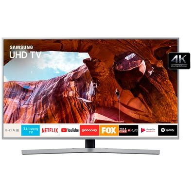 Smart TV LED 50´ UHD 4K Samsung, 3 HDMI, 2 USB, Bluetooth, Wi-Fi, HDR, Design Premium - UN50RU7450GXZD
